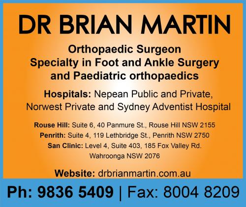 Dr Brian Martin