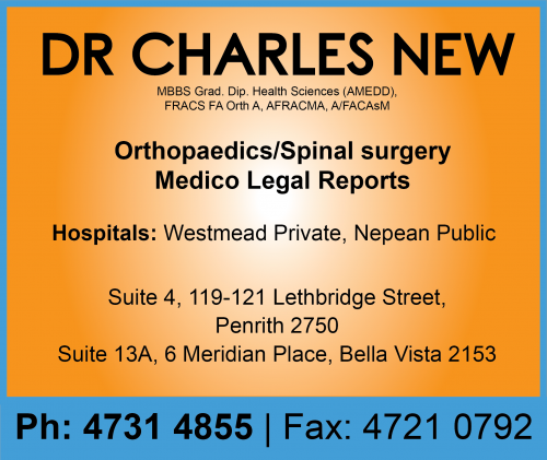 Dr Charles New